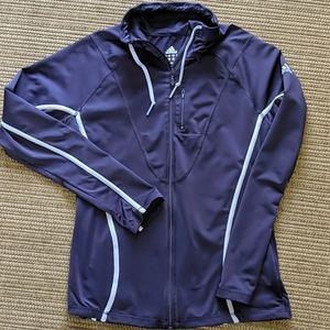 Adidas Climalite Clima365 Purple Zip Jacket